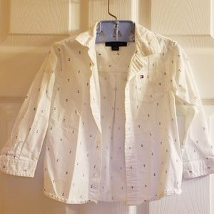 Tommy Hilfiger Dress Shirt 2T